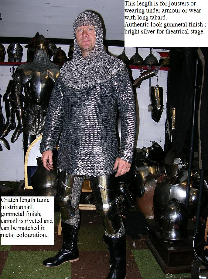 Terry in BQL plastic chainmail